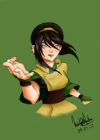 Toph - color by xStarbreeze