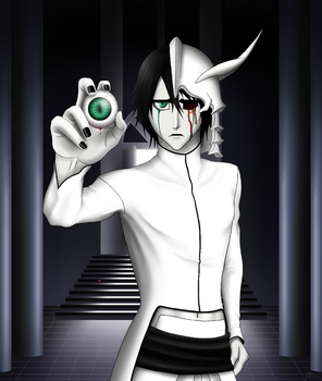 Bleach - Ulquiorra's Eye by TwinSistaVM