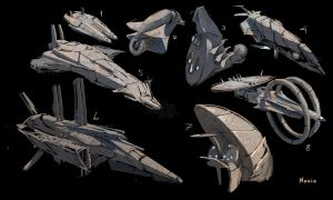 SFships concept ideas by samice