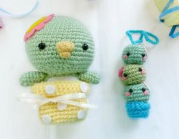 Craft Swap: Sabbo Kappa and Friend by milliemouse579