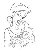 Progress: Ariel + Baby Melody by riaherod