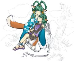 Trouble on the Battlefield by gummypocky