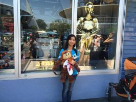 I'm standing next to C-3PO in Star Trader shop 2 by Magic-Kristina-KW