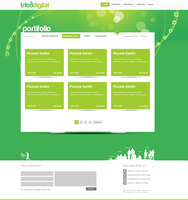 Website Tribo - Portifolio by leofiger