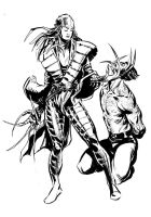 Lady Deathstrike - Wolverine by stokesbook