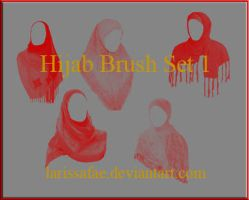 Hijab Brush Set 01 by LarissaFae