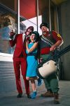 Montreal Comiccon 2014: Photoshoots 7 by Henrickson