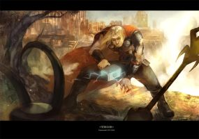 Thor by fish-ghost