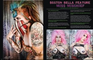 Bella Morte Magazine by Miss-MischiefX