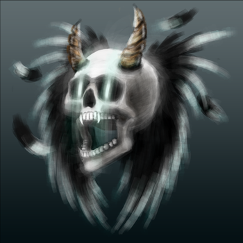 WingedSkull by Foxeus