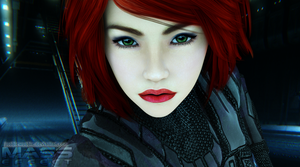 I am Commander Shepard by joobiewoobie