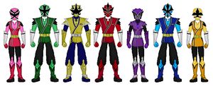 Samurai Strike-All Rangers by heavenlymythicranger