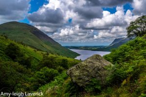 Wastwater from the footpath leading to Scafell. by Princess-Amy