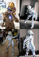 The Soul Bender Demonic Light up full costume by TwoHornsUnited