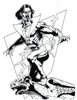 Morbius B and W by hawk5