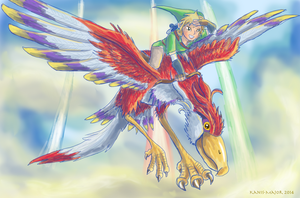 Skyward Sword by Kanis-Major