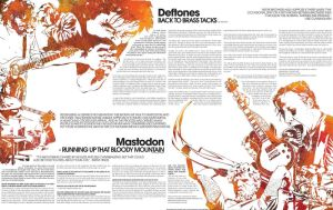 deftones mastodon illustration by Calumba