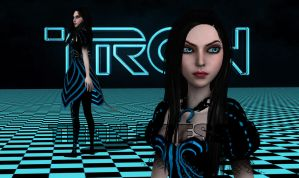 Tron Dress by Brusya