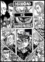 JJBA 4 - Diamond is Unbreakable by devilkais