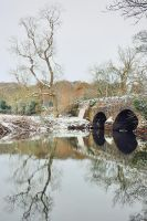 Drum Bridge, Winter Morning V2 by Gerard1972