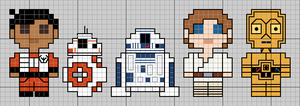 Droids from Star Wars by lpanne