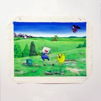 Adventure Time Acrylic by jbritz22