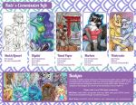 Commission Info 2015 by Mermaid-Kalo