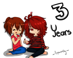 3 Years by XVoiceOfDreamsX