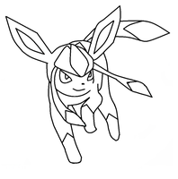 glaceon template by shadowxmephiles