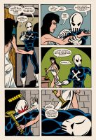 Lady Spectra and Sparky: Heart of Darkness pg.11 by JKCarrier