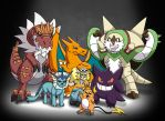 My Pokemon X Team by Mohegan567