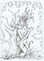 Tree - Linework by Andreth