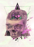 Abstract Skull by dvToxic-Inc