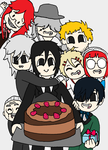 Black Butler -Happy Birthday! by AmazingAceArmy