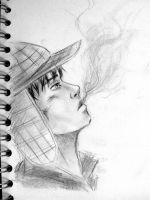 Holden Caulfield by drawforever41