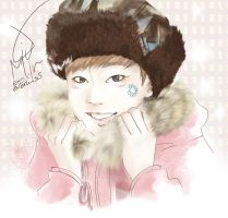 [Xiumin] Fur Challenge by EverKiss