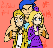 Advance Wars: Highschool Chums by COChaos