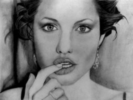 Angelina Jolie by Maiconvaz