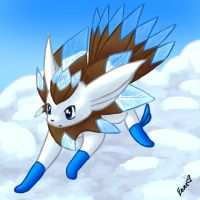 Aveon--the flying eevee by Togechu
