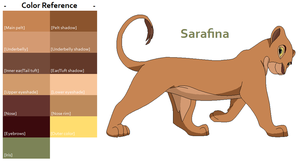 TLK Sarafina Color Reference by FeralHeartsFan