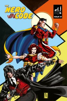 Hero Code ongoing cover by JamieGambell