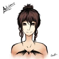 OC Adrianne Profile by icaraus
