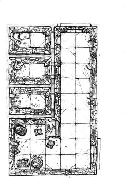 Dungeon floor plan prison wip by billiambabble
