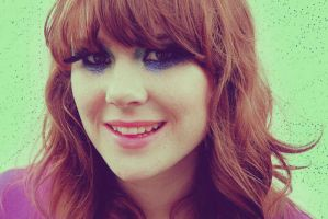 Kate Nash - magenta by AlbionSailor