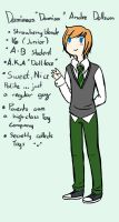 AU: Damian by AskTheDollPrince