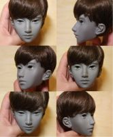 Asian Rui 70+ BJD work in progress by Rosen-Garden