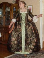 1740-1760's francaise by LadyCafElfenlake
