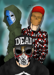 Hollywood Undead by Hlontro