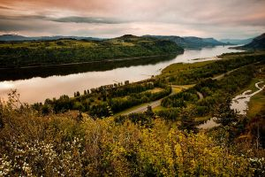 Columbia River View by sergey1984