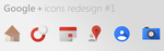 Google+ Icons Redesign #1 by Brebenel-Silviu